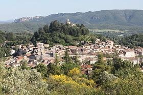 Image ville Forcalquier vue du ciel